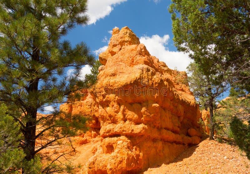 Piedra arenisca colorida en el desierto imágenes de archivo libres de regalías