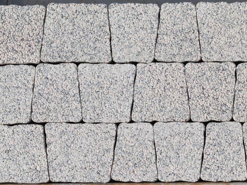 Piedra artificial gris clara de la pared imagen de archivo - Pared de piedra artificial ...