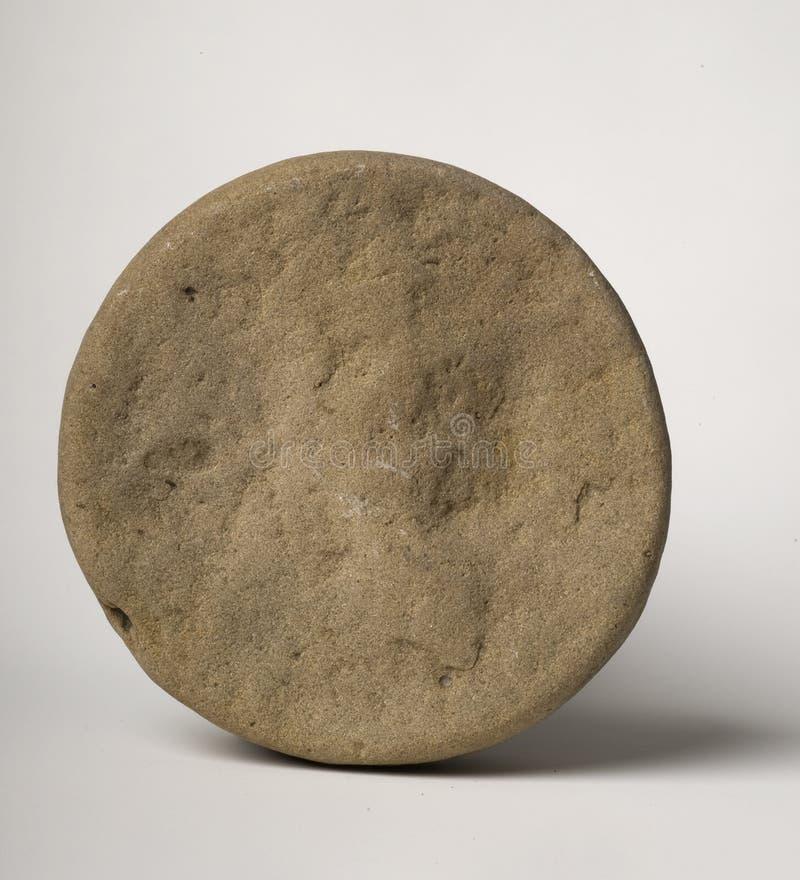 Piedra circular imagen de archivo libre de regalías
