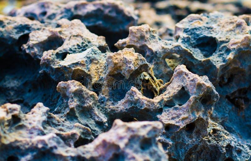 Piedra coloreada Vea de la carretera 9 fotos de archivo