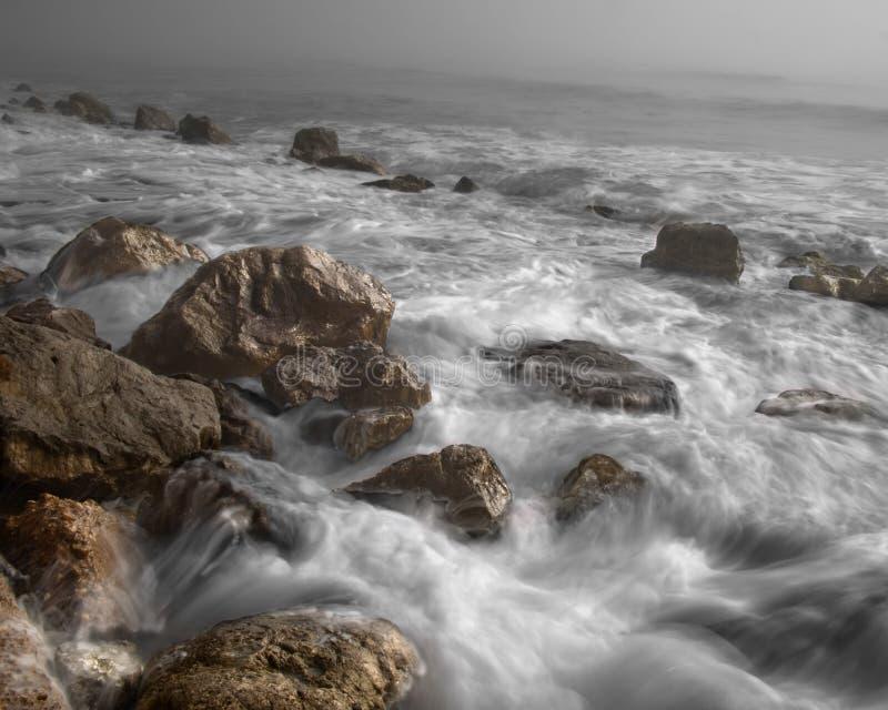 Piedra De Brown En Un Mar Dominio Público Y Gratuito Cc0 Imagen
