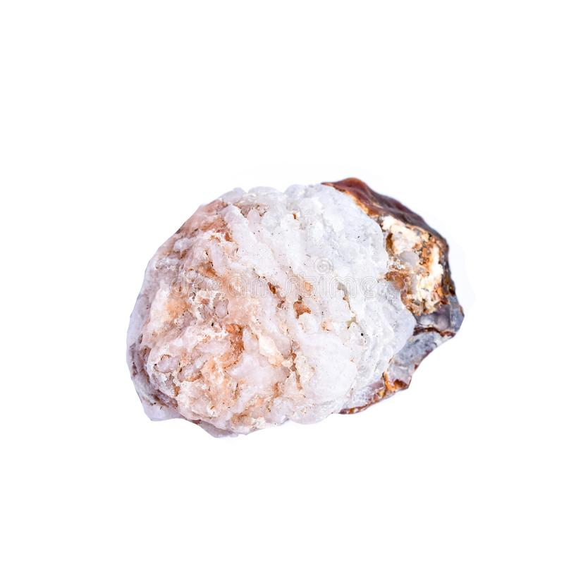 Piedra de curación de cristal crudo imagenes de archivo