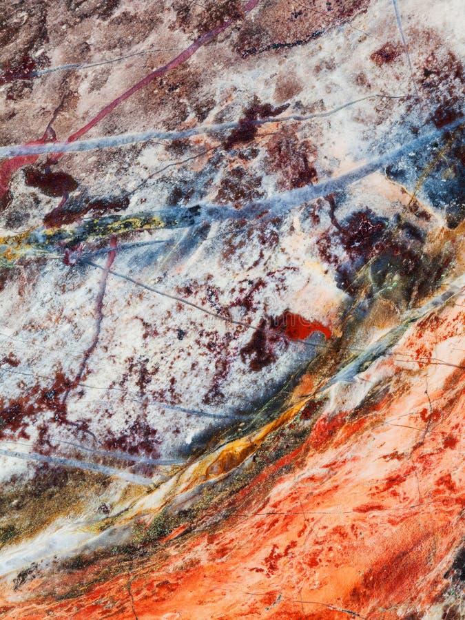 Piedra de gema mineral pulida del jaspe de la imagen imagen de archivo libre de regalías