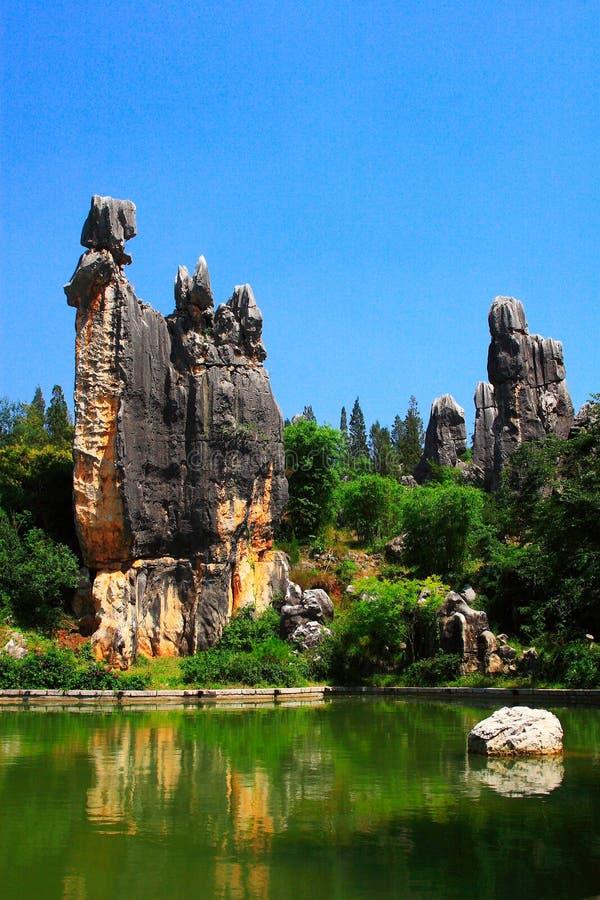 Piedra de Kunming fotos de archivo