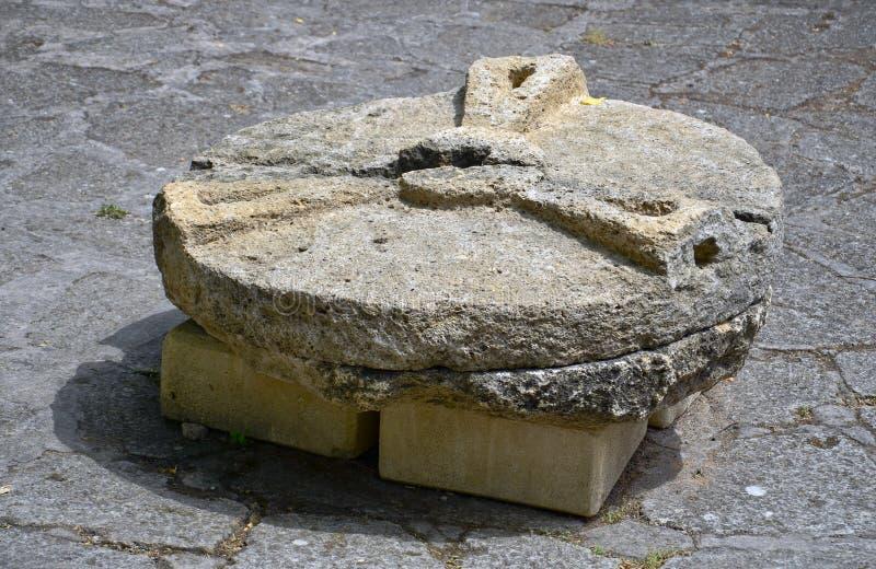 Piedra de molino fotografía de archivo libre de regalías