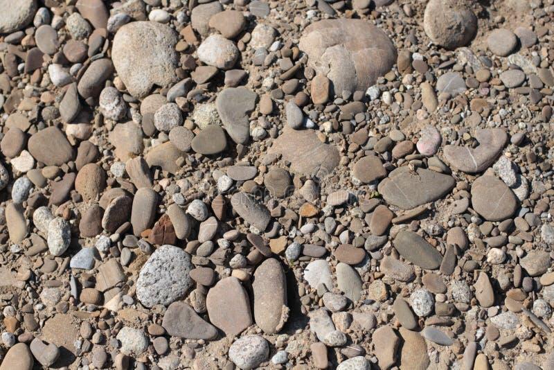 Piedra del adoquín del río imagen de archivo libre de regalías