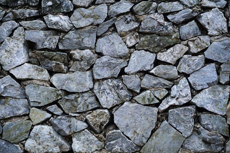 Piedra del fondo antiguo del modelo de la roca de pared fotografía de archivo libre de regalías