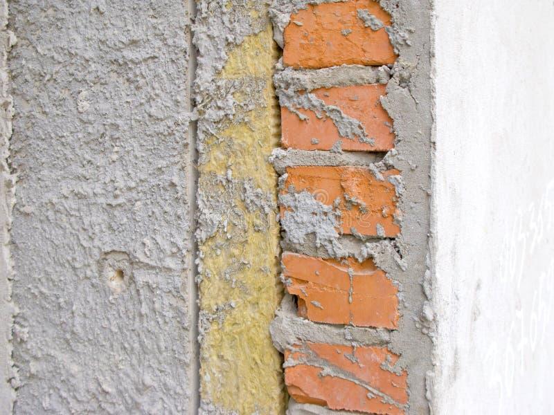 Piedra del material del aislamiento del calor imagen de archivo libre de regalías