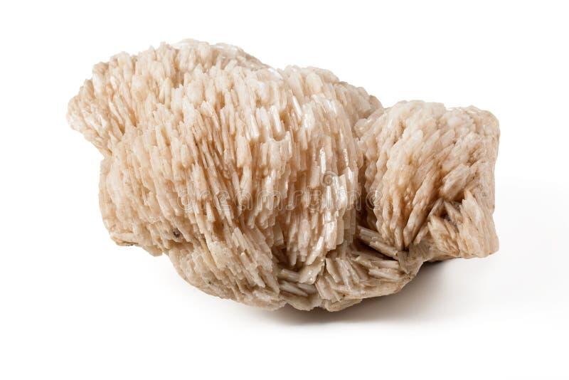 Piedra del mineral de Baryte foto de archivo