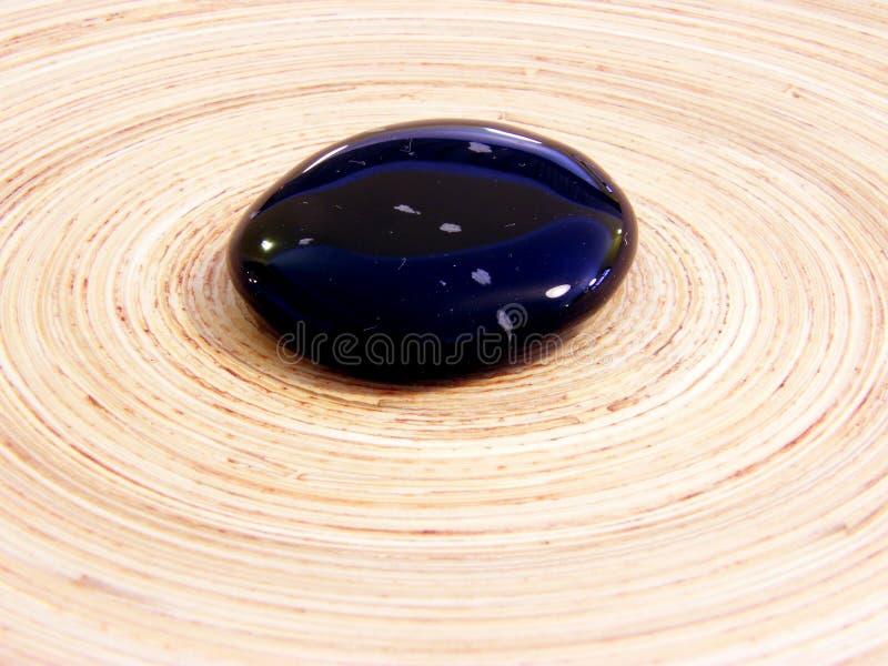 Piedra del obsidiano imágenes de archivo libres de regalías