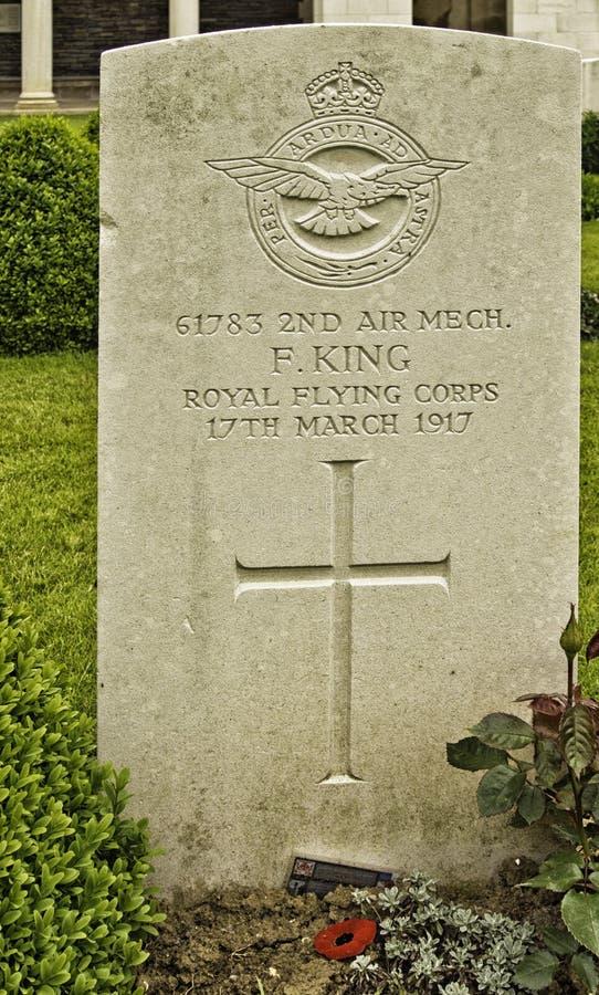 Piedra del sepulcro del canto de Vimy fotos de archivo