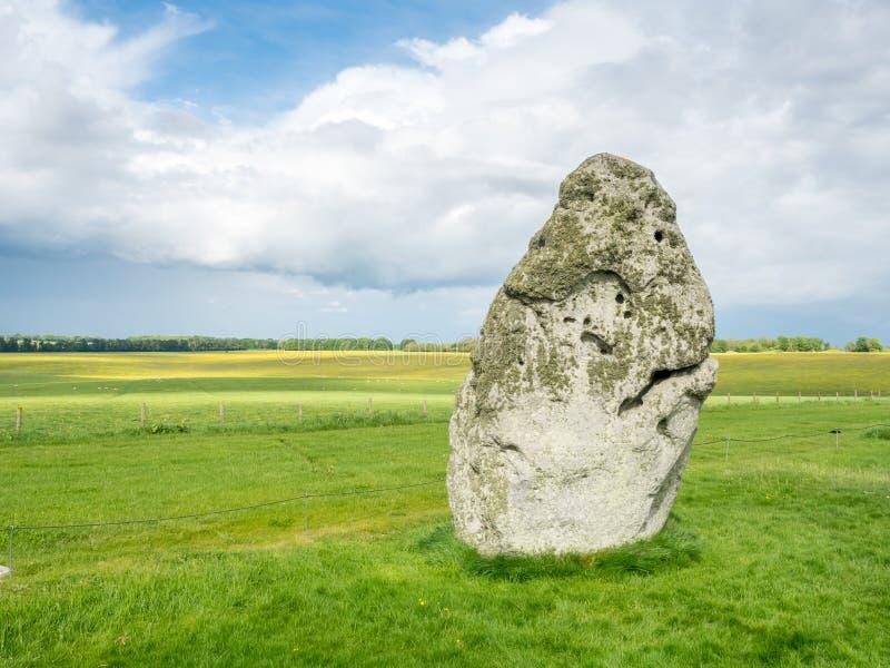 Piedra del talón en Stonehenge imagen de archivo libre de regalías
