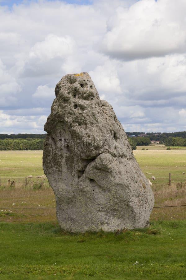 Piedra del talón, Stonehenge fotos de archivo