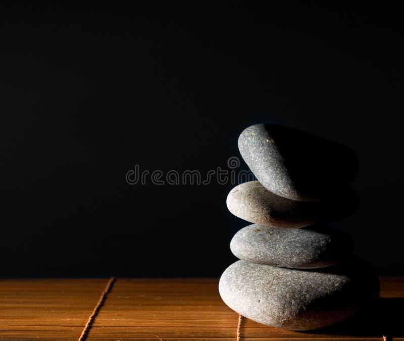 Piedra del zen foto de archivo libre de regalías