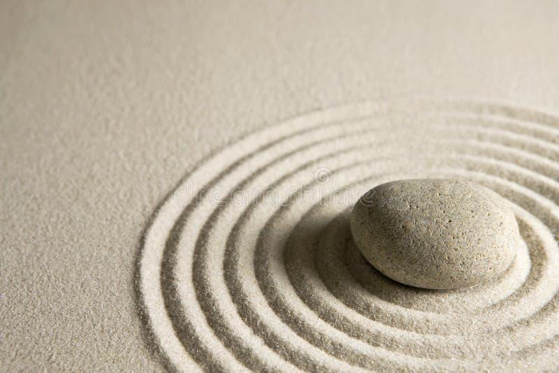 Piedra del zen fotografía de archivo libre de regalías