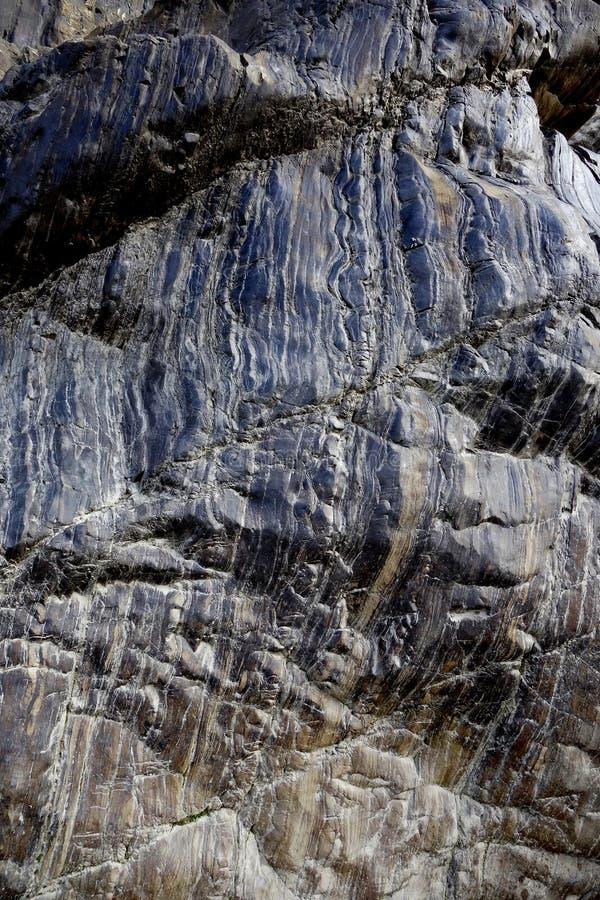 Piedra estratificada metálica imágenes de archivo libres de regalías