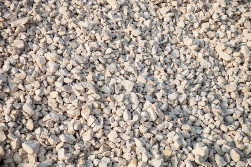 Piedra machacada foto de archivo