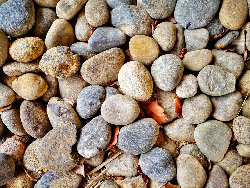 Piedra minúscula de la roca del primer foto de archivo libre de regalías