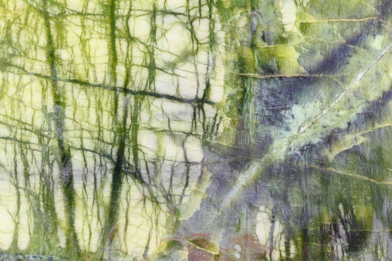 Piedra mineral verde texturizada fotos de archivo