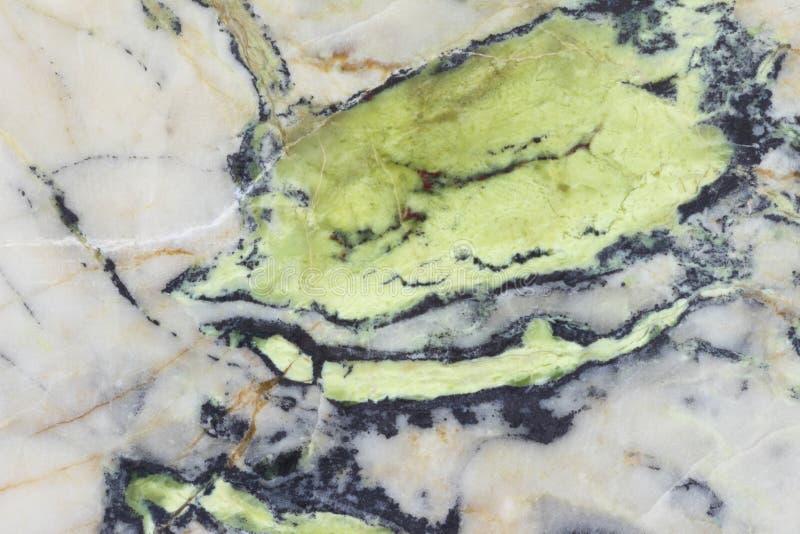 Piedra mineral verde texturizada fotografía de archivo