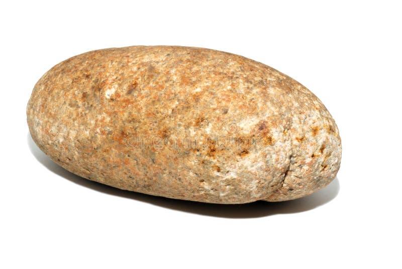 Piedra oval grande imagen de archivo