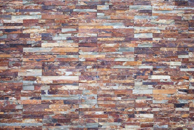 Piedra oxidada Chapa de piedra para la decoración de la pared exterior imágenes de archivo libres de regalías