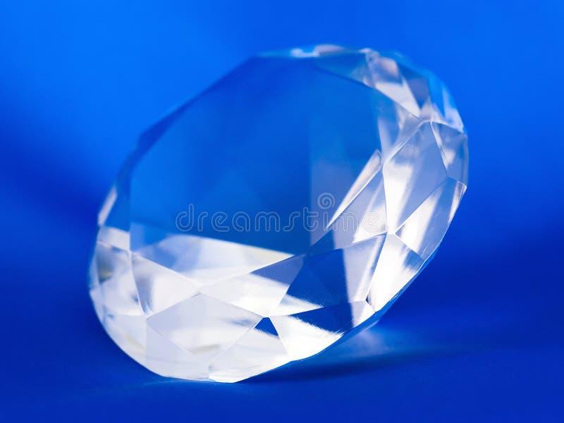Piedra preciosa cristalina foto de archivo libre de regalías