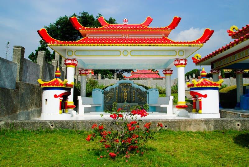 Piedra sepulcral china fotografía de archivo libre de regalías