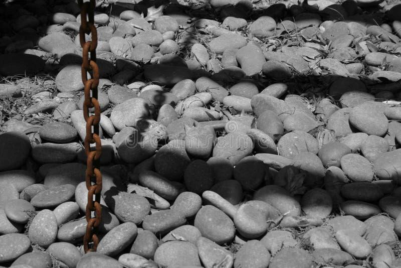 Piedra y sombra imágenes de archivo libres de regalías