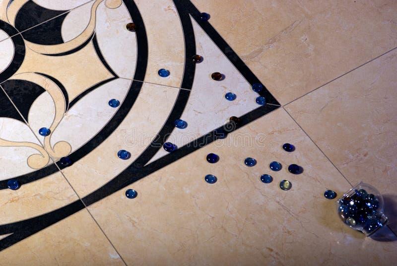 Piedras azules fotografía de archivo