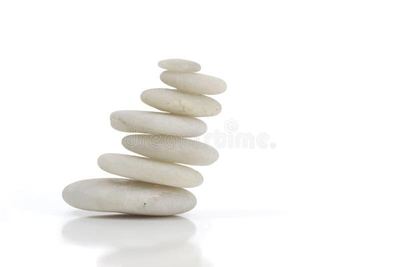 Piedras blancas imagen de archivo
