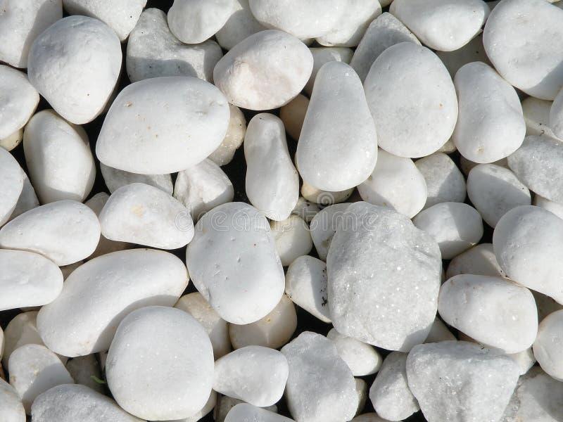 Piedras blancas fotografía de archivo libre de regalías