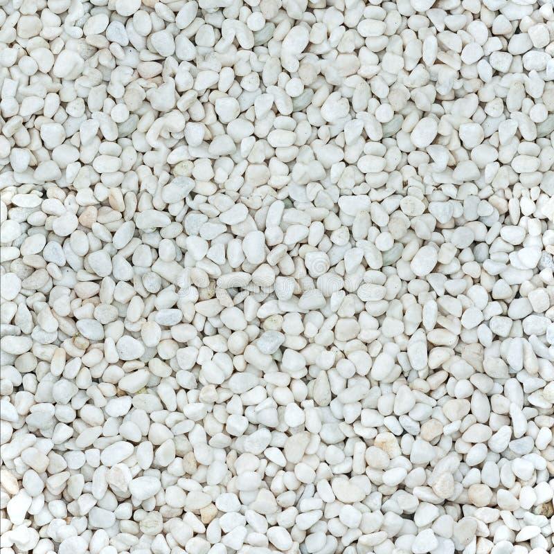 Piedras blancas naturales lisas brillantes fotografía de archivo