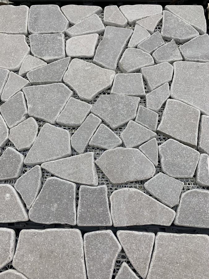 Piedras blancas naturales lisas brillantes fotos de archivo
