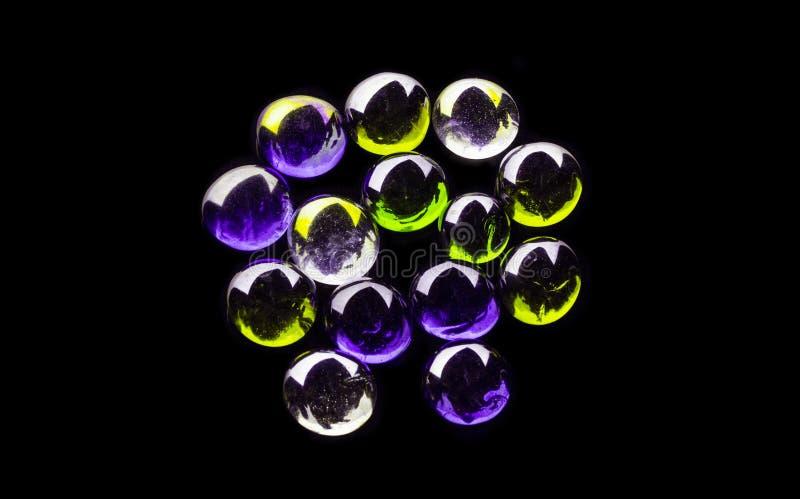 Piedras coloreadas fotografía de archivo libre de regalías