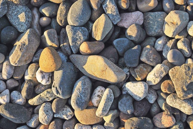 Piedras coloridas fotos de archivo