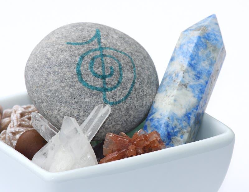 Piedras curativas imagen de archivo libre de regalías