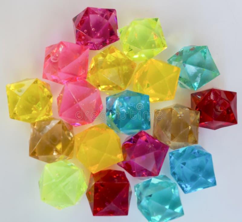 Piedras de diversos colores foto de archivo libre de regalías