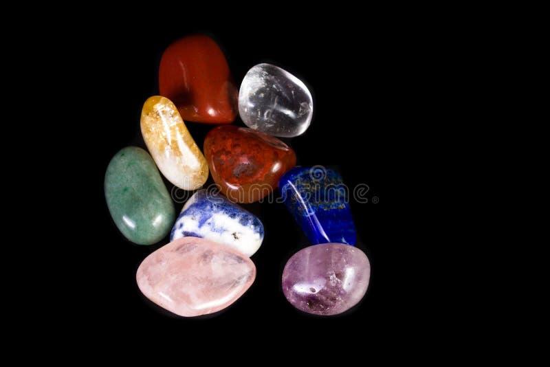 Piedras de equilibrio de Chakra imagen de archivo