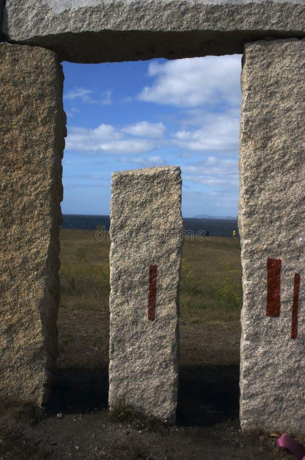 Piedras de Galicia fotos de archivo