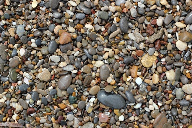 Piedras de la naturaleza del mar imagen de archivo libre de regalías