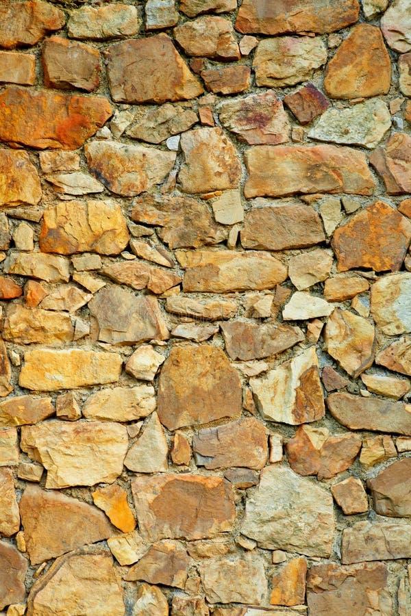 Piedras de la pared foto de archivo libre de regalías