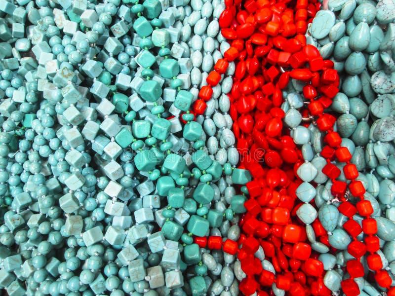 Piedras de la turquesa como fondo imagenes de archivo
