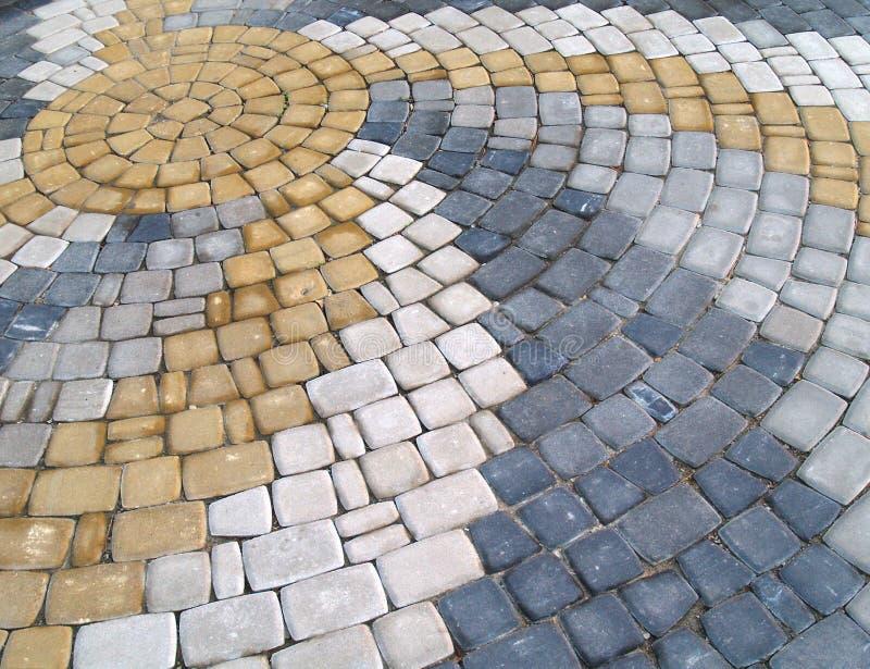 Piedras de pavimentación fotos de archivo
