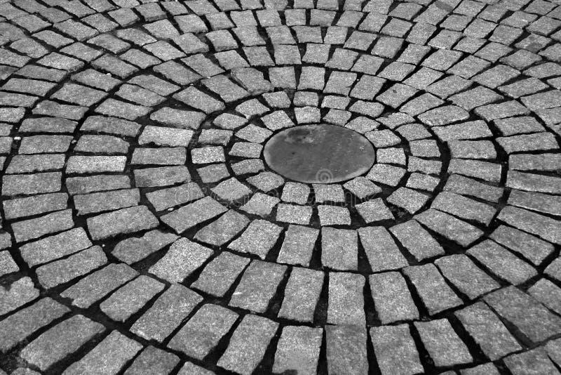 Piedras de pavimentación fotografía de archivo