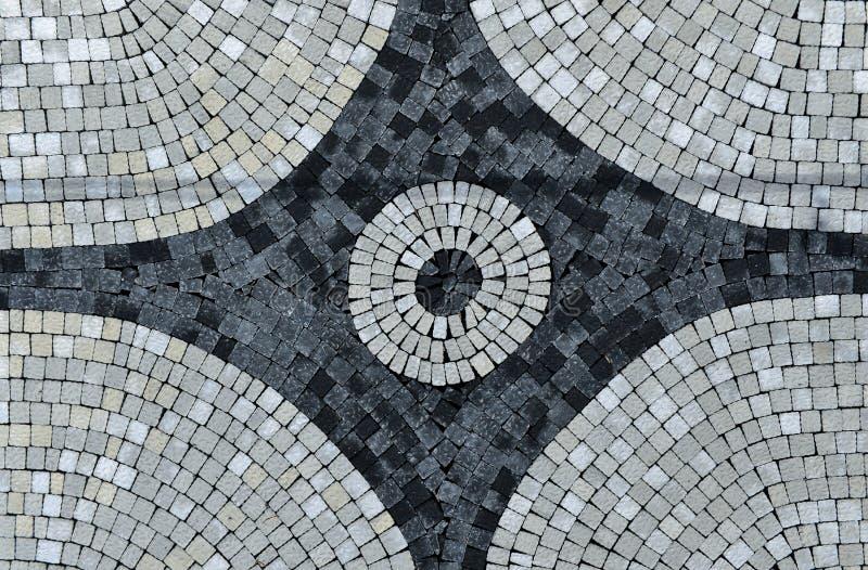 Piedras de pavimentación, trabajo colorido de la arquitectura de paisaje imágenes de archivo libres de regalías