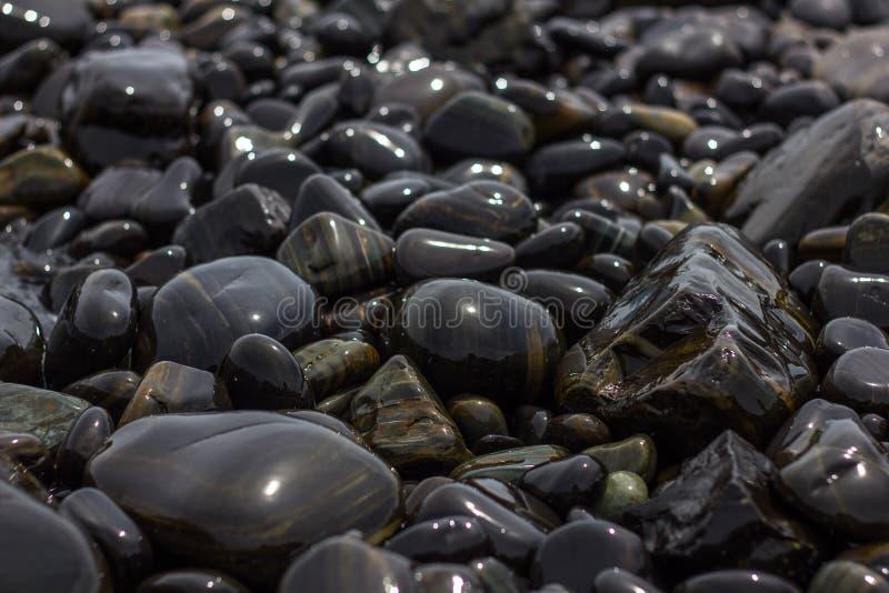 Piedras decorativas foto de archivo