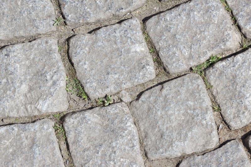 Piedras del adoquín foto de archivo