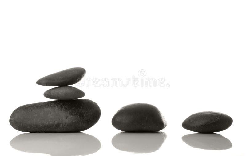 Piedras del balneario fotografía de archivo