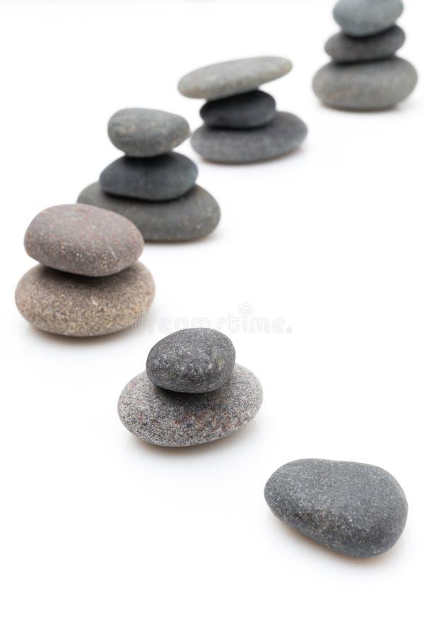 Piedras del balneario. foto de archivo libre de regalías